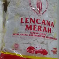Tepung Terigu: LENCANA MERAH (1 kg)
