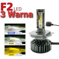 H1 H3 H4 H7 H11 HIR2 9012 HB3 9005 HB4 9006 LED Head Lamp S1 CSP Chips