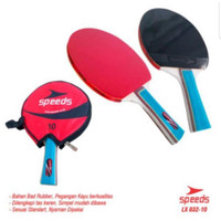 Bat Pingpong bet tenis meja speeds 3/4 isi 1 Cover lx032-10