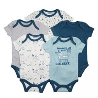 Jumper Baby Bodysuit Motif Explorer 5in1 - 6-9 Bulan
