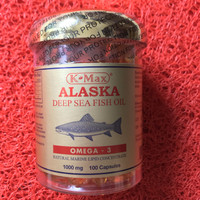 K-Max Alaska deep sea fish oil omega 3,6,9