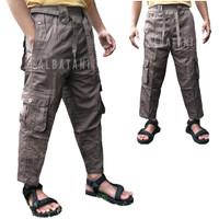 Celana sirwal boxer cargo pangsi slim fit premium