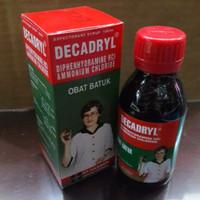 Decadryl Expectorant Sirup 120 ml /Sirup Obat Batuk/Besar