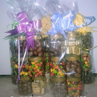 paket parcel coklat lebaran 6 Toples Mini 210ml Ful Delfi / Asli Delfi