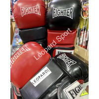 Boxing gloves MMA leather / sarung tangan tinju kulit FIGHTER