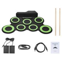 Drum Perkusi Elektrik Portable DTX 7 Pad Usb Power