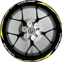STICKER VELG VR46 BEAT,VARIO,AEROX All Motor Matic Ring 14