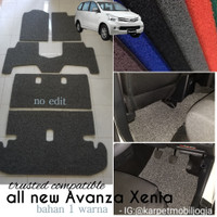 Karpet Mie Mobil All New Avanza Full Bagasi