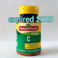 Nature Made Vitamin C 500 mg 100 caplets