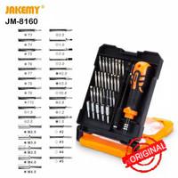 Jakemy Obeng Set 33 in 1 Including Pentalobe 1.2mm & 0.8mm, Torx dll