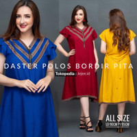 Daster Polos Bumil Busui Dress Arab Rayon All Size