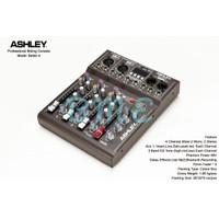 Mixer audio ashley better4/better 4 4ch (usb-mp3-bluetooth)original