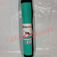 Matras Yoga Pilates 5mm + Tal Anti Licin Slip Mat Tikar Alas Olahraga