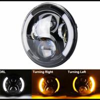 Daymaker proyector 7 inch half sein motor dan mobil jimny katana dll