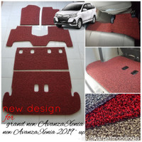 Karpet Mie Mobil New Avanza Xenia Full Bagasi ~ Bahan 2 warna