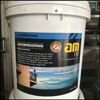 AM 110 20kg pelapis anti bocor sekelas aquaproof nodroop abu putih