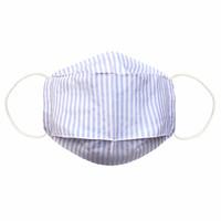 Qlassuale Masker Katun 3D earloop - Stripe