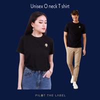 Unisex O Neck t-shirt Black