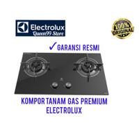 KOMPOR TANAM PREMIUM ELECTROLUX 2 TUNGKU EHG7230BE GAS HOBS NEW 2020
