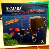 Aqurium Liquid Filter Pompa Celup Akuarium Power Head ARMADA SP2500