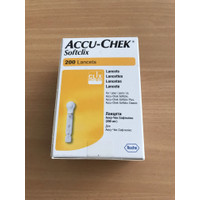 Accuchek Softclix Accu-chek Softclix Lancet Blood Lancet Accucheck 200