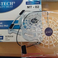 Cooling Fan Laptop M-tech Mt02 Acrylic White