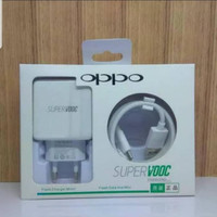 Charger Oppo Super VOOC Fast Charging - Putih