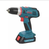 Cordless Driver Drill Set BODA D1447-10   Mesin Bor Tanpa Kabel 10mm