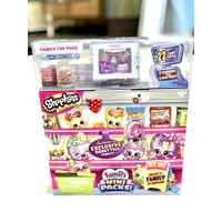 TERMURAH! SHOPKINS FAMILY FUN PACK SHOPKINS FAMILY MINI PACKS 22 ITEMS