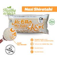 Nasi Shirataki Tsubu Ketogenic Diet Keto Low Carbo 200 gr