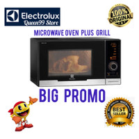 MICROWAVE MEWAH ELECTROLUX 23L EMS2348X OVEN PLUS GRILL