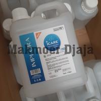 Implora Icare Hand Sanitizer 1 liter Cair bukan Onemed Aseptic Gel