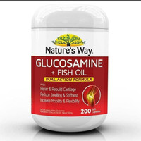 natures way glucosamine+ fish oil 200 tablet
