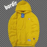 jaket sweater champion warna kuning/hoodie pria distro premium