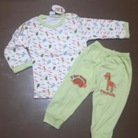 Baju anak Arrow Apple baju celana panjang giraffe hijau 1.5 2 3 4 thn