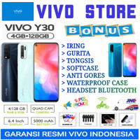 VIVO Y30 RAM 4/128 GB GARANSI RESMI VIVO INDONESIA