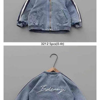 jaket jeans anak anak import