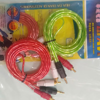 kabel audio RCA to mini stereo