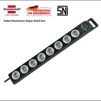 Stop kontak Brennenstuhl super solid line 8soket with switch adn fuse