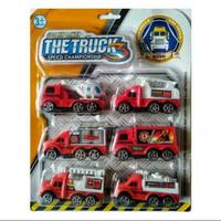 1 set mainan anak mobil pemadam kebakaran