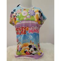 Kaos Anak Perempuan Minnie Mouse merk COCO ICE