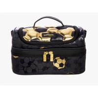 smiggle Lunch Bag Tas Bekal Makan Soccer Gold Black Original Asli