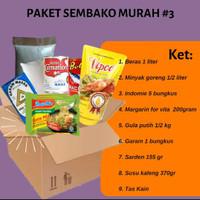 Jual Paket Sembako dan Donasi Bantuan