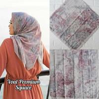 Hijab Segi Empat Hijab Deenay Kw Kerudung Deenay Kw My Lady Button