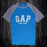 Kaos Pria Gap Original - Biru, XS