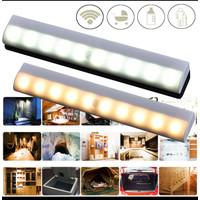Lampu Strip sensor gerak led 10 pakai baterai AAA