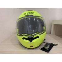 Helm nolan n104 modular + scala rider