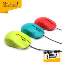 MOUSE USB KABEL M-TECH MT-08 CANDY COLOR