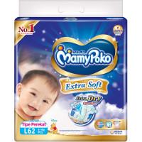 Mamy Poko Baby Diapers Jumbo 62's L