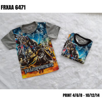 Transformers kaos anak 2-5th by furo